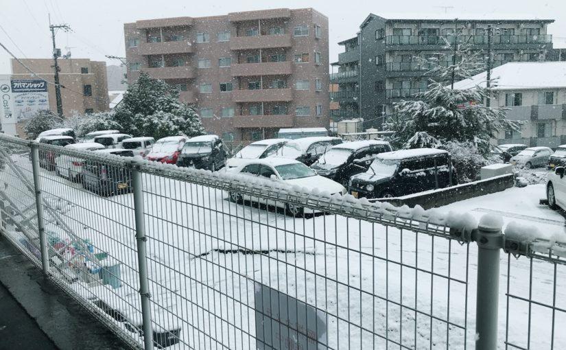 初雪に~ざわめく街で~